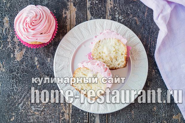 Капкейки в домашних условиях: рецепт с фото