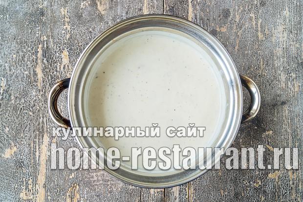 Соус бешамель: классический рецепт