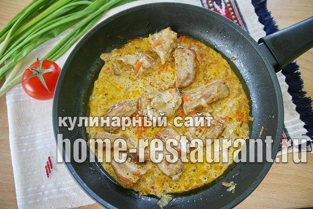 Картошка в горшочке с мясом в духовке фото_05