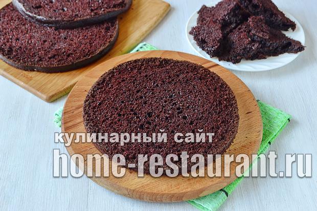 Шоколадный торт рецепт с фото пошагово  _06