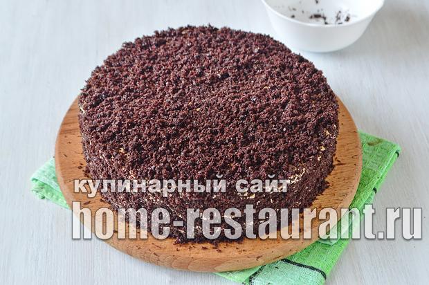 Шоколадный торт рецепт с фото пошагово  _09