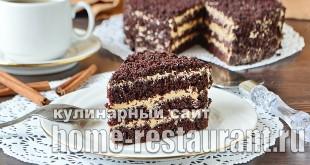Шоколадный торт рецепт с фото пошагово  _11
