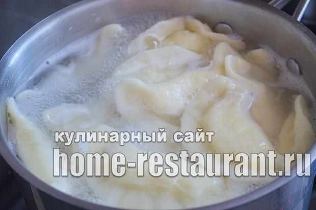 Вареники с творогом пошаговый рецепт с фото _16