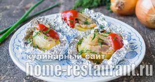 Картошка с салом в фольге в духовке: рецепт с фото