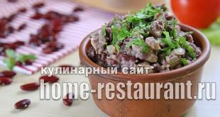 Лобио из красной фасоли классический рецепт  _03