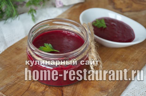 Вишневый соус к мясу фото _10