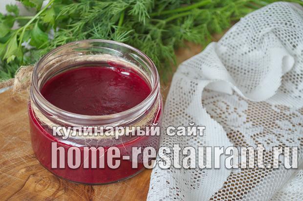 Вишневый соус к мясу фото _11