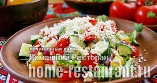 Шопский салат рецепт классический с фото_5