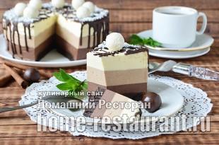 Торт Три Шоколада фото _22