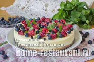 Творожный чизкейк в домашних условиях рецепт с фото  _16
