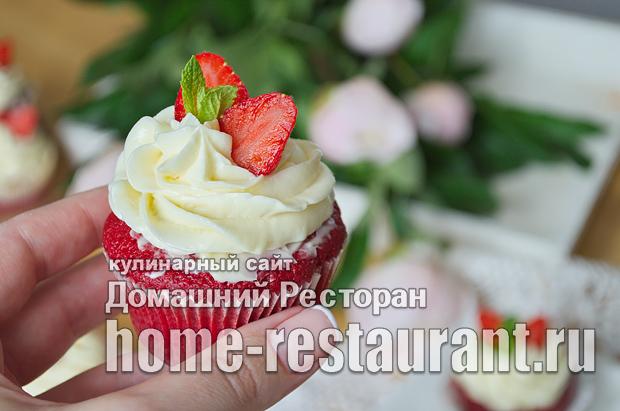Капкейки в домашних условиях рецепт с фото пошагово_28
