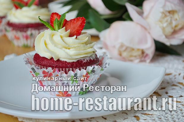 Капкейки в домашних условиях рецепт с фото пошагово_34