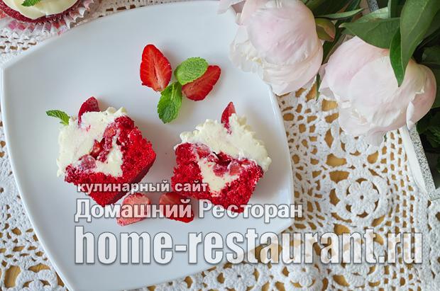 Капкейки в домашних условиях рецепт с фото пошагово_35