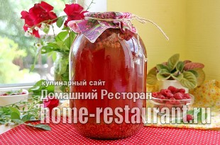 Компот из малины на зиму без стерилизации_9