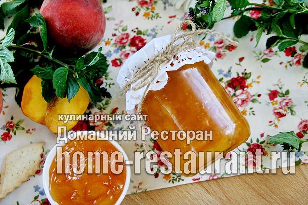 Персиковое варенье с Желфиксом фото_01