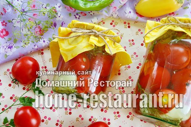 Сладкие маринованные помидоры на зиму фото_03