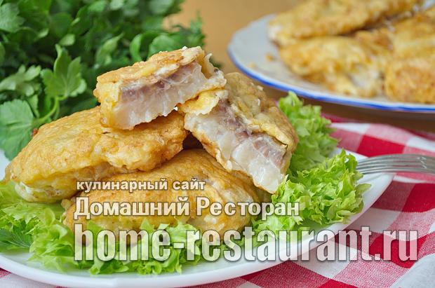 Рыба в кляре пошаговый рецепт с фото _10