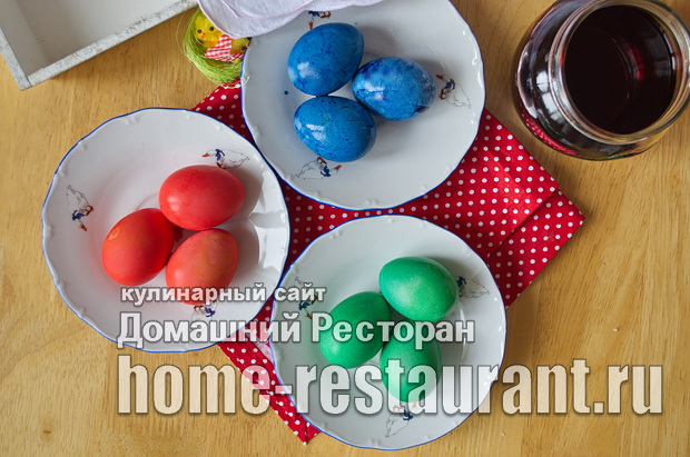 Как красить яйца пищевыми красителями фото_9