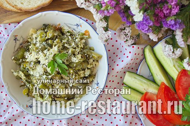 Стручковая фасоль в духовке фото_11