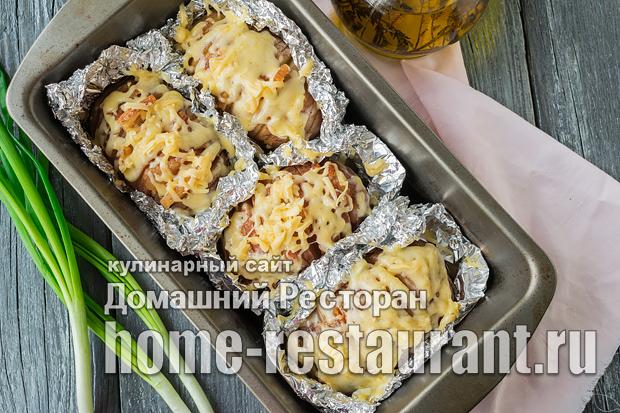 Картошка-гармошка в духовке фото_6