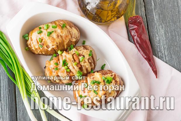 Картошка-гармошка в духовке фото_7