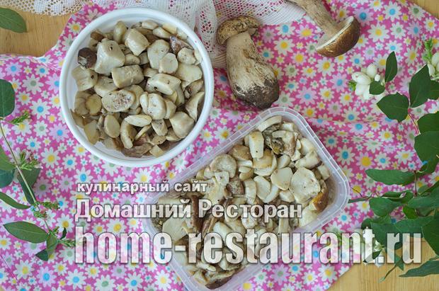 Как заморозить белые грибы фото_10