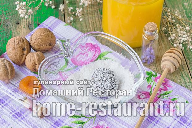 Конфеты из сухофруктов и орехов фото_10