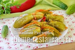 Малосольные огурцы с морковью фото_03