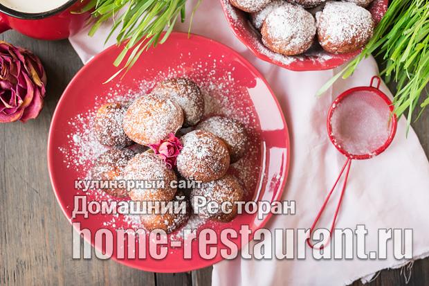Творожные пончики фото_05