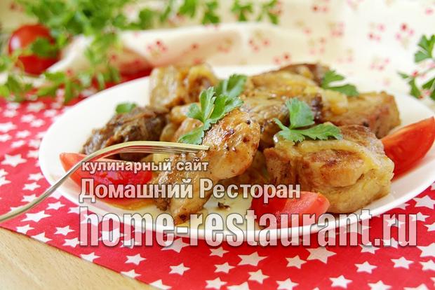 Шашлык на сковороде из свинины фото, фото рецепт Шашлыка на сковороде из свинины