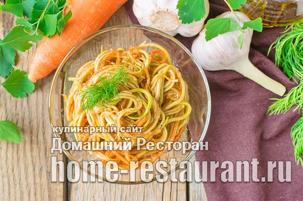 Кабачки с морковью по-корейски фото_04
