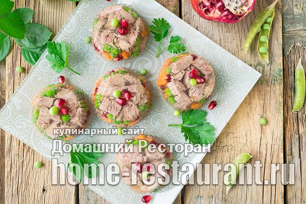 Заливное из говядины с желатином фото, фото рецепт заливного из говядины с желатином