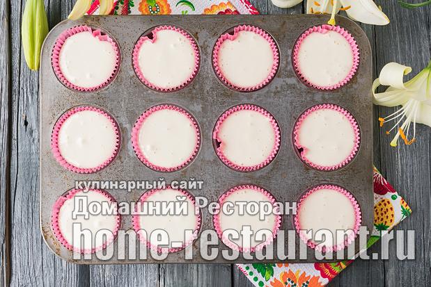 Маффины с ягодами фото_1