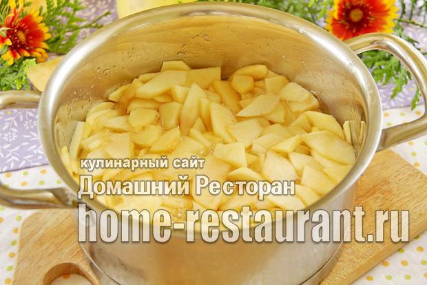 Заготовка из яблок для пирогов фото_5