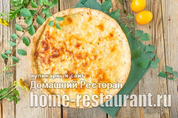 Пирог с рыбой и рисом фото_07