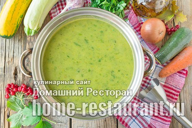 Суп пюре из кабачков фото_04