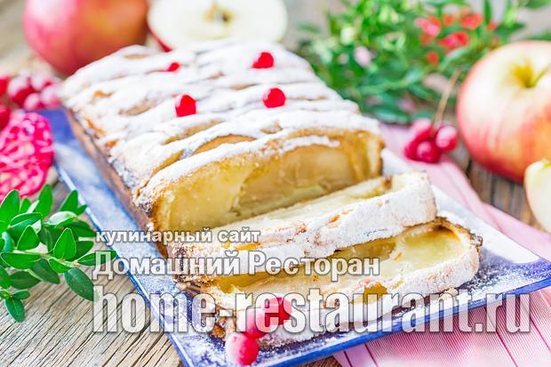 Кекс с яблоками фото, фото рецепт кекса с яблоками
