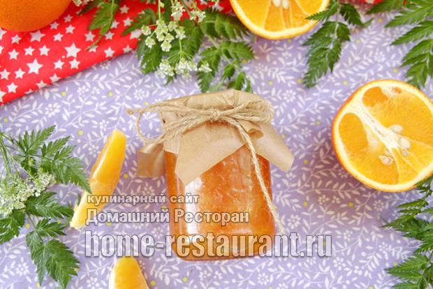Варенье из апельсинов на сковороде фото