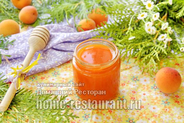 Абрикосы с медом без варки протертые фото