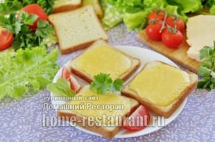 Гренки с сыром по-валлийски, рецепт с фото пошагово