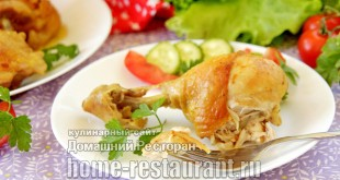 Курица в пиве в духовке фото