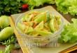 Быстрые маринованные зеленые помидоры дольками фото