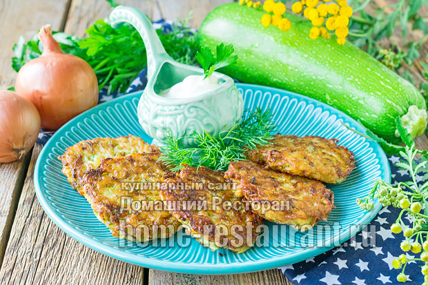 Драники с картошкой и кабачком фото 1