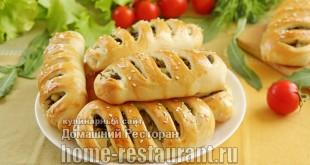 Пирожки со щавелем и яйцом из дрожжевого теста фото