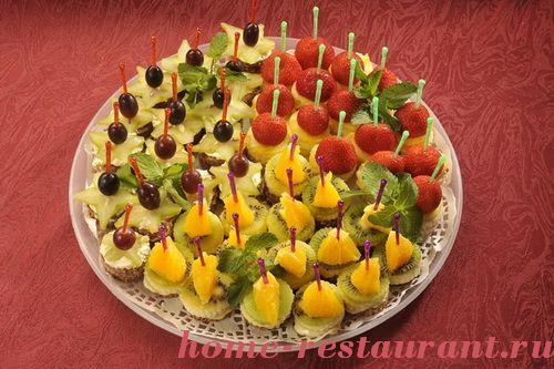 Рецепты закусок День рождения рецепты с фото на