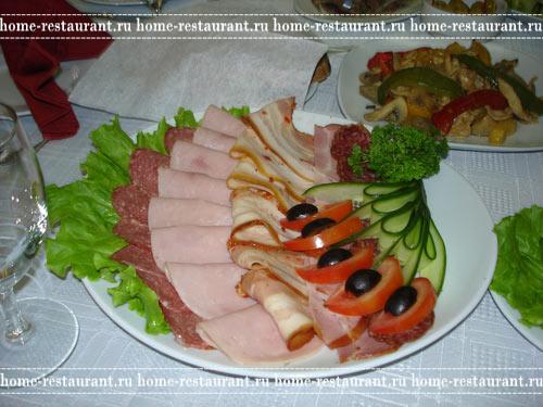 Украшения мясных блюд фото