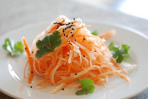 Репа рецепты салат