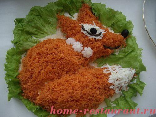 салат царский рецепт с курицей и шампиньонами слоями рецепт