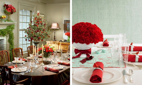 for Christmas table cover ideas