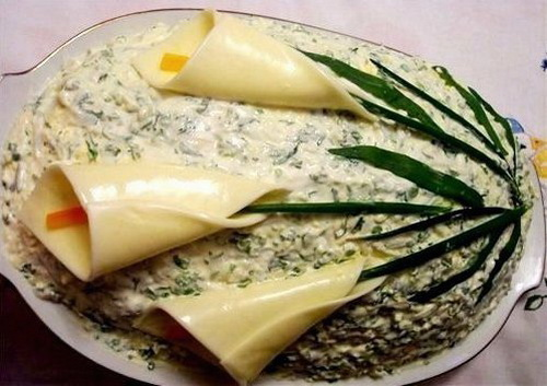 Как сделать салат слоями фото 727